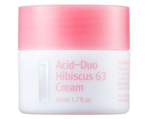 By Wishtrend Acid-duo Hibiscus 63 Cream, pelembab korea untuk kulit berminyak