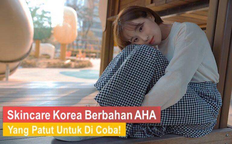 skincare korea berbahan AHA