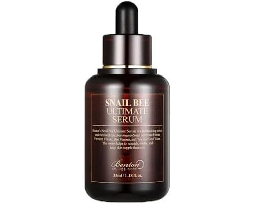 Benton Snail Bee Ultimate Serum, skincare korea untuk mencerahkan