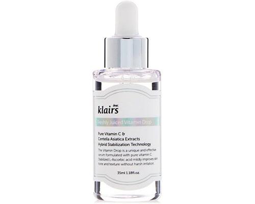Dear Klairs Freshly Juiced Vitamin Drop Vitamin C Serum, produk skincare korea yang bagus