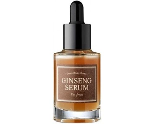 serum korea untuk mencerahkan wajah, IM From Ginseng Serum