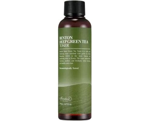 Benton Deep Green Tea Toner, Skin Care Korea Untuk Remaja
