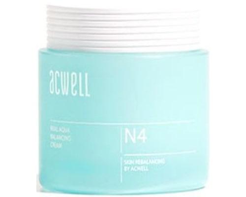Acwell Real Aqua Balancing Cream, Pelembab Korea Untuk Kulit Sensitif