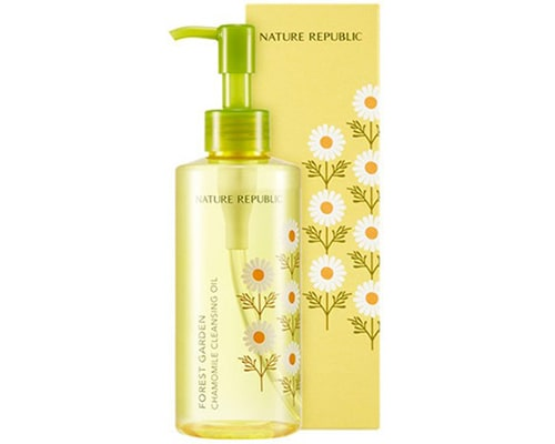 Nature Republic Forest Garden Chamomile Cleansing Oil, 10 Step Skincare Korea Untuk Kulit Berjerawat