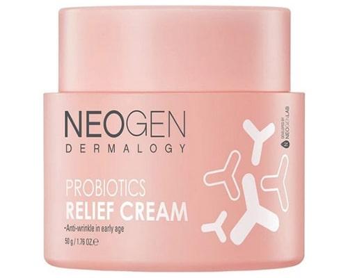 Neogen Dermalogy Probiotics Relief Cream, Pelembab Korea Untuk Kulit Sensitif