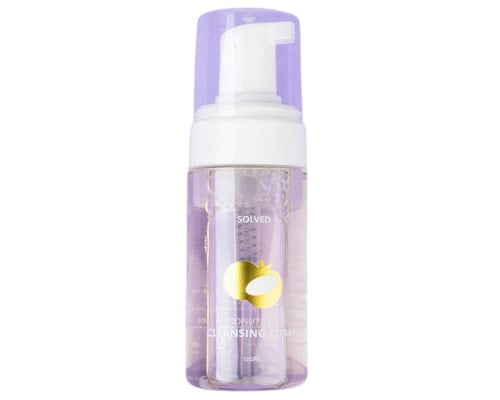 Solved Skincare Coconut Water Cleansing Foam