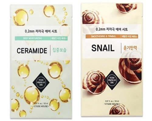 Etude House 0.2mm Therapy Air Mask Range
