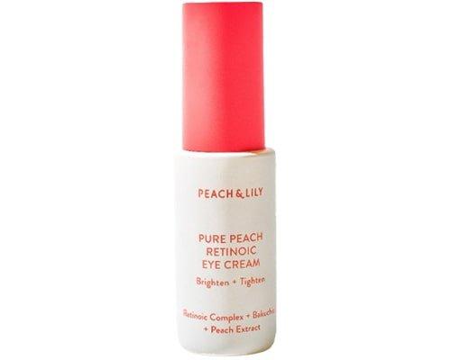 Peach & Lily Pure Peach Retinoic Eye Cream, Eye Cream Korea Yang Bagus Untuk Mata Panda