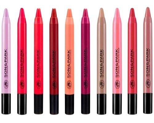 Son & Park Lip Crayon, Produk Makeup Korea Yang Bagus