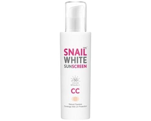 Snail White Namu Life Sunscreen CC Cream SPF 50, Sunscreen Korea Untuk Kulit Kering
