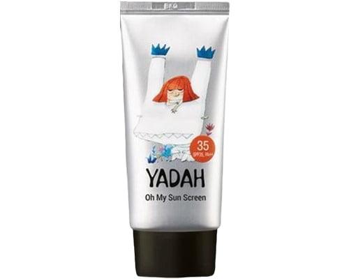 Yadah Oh My Sun Screen SPF 35, Sunscreen Korea Untuk Kulit Kering
