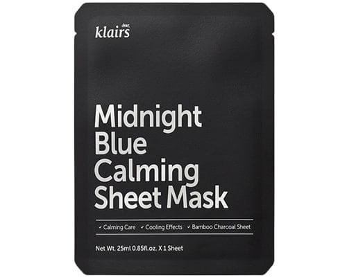 Dear Klairs Midnight Blue Calming Sheet Mask