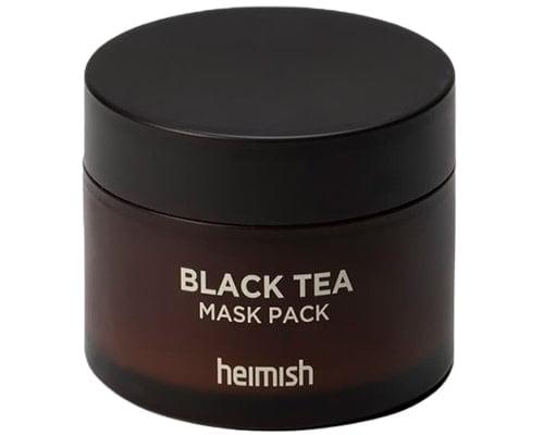 Masker Korea Untuk Kulit Sensitif, Heimish Black Tea Mask Pack
