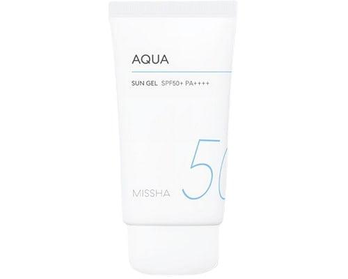 Sunscreen Korea Untuk Kulit Berminyak, Missha All Around Aqua Sun Gel