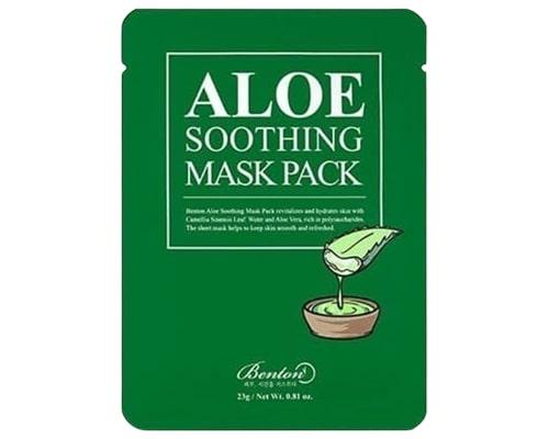Skincare Korea Untuk Fungal Acne, Benton Aloe Soothing Mask Pack