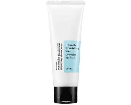 Skincare Korea Yang Cocok Untuk Kulit Sensitif, CosRX Ultimate Nourishing Rice Overnight Spa Mask