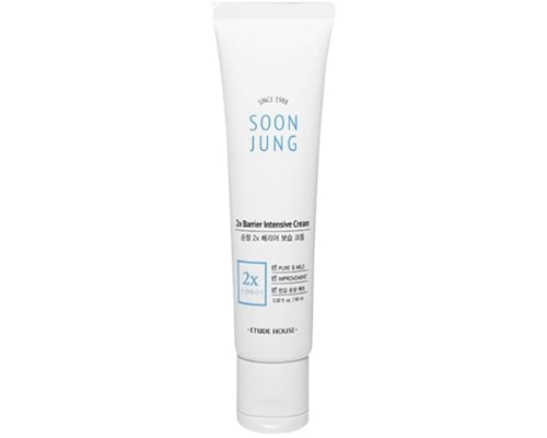 Skincare Korea Yang Cocok Untuk Kulit Sensitif, Etude House Soon Jung 2x Barrier Intensive Cream